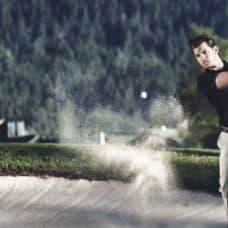 Slider-Golf Abschlag - Anlage Seefeld-Reith